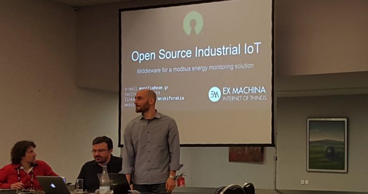 Ex Machina: Middleware for a modbus energy monitoring solution